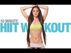 10 Minute Beginner HIIT Workout… (You Can DO WITH YOUR KIDS!!)
