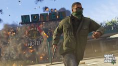 GTA V holds the PS4 games chart top spot for a fourth consecutive week