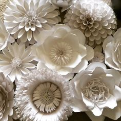 Giant paper flower by GillumEventDesigns on Etsy