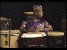 Babatunde Olatunji, Nigerian drummer, educator, social activist and recording artist.