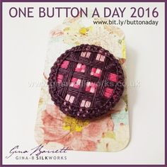 Day 268 : Ries #onebuttonaday by Gina Barrett