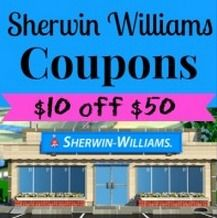 Sherwin Williams Coupons: $10 Off And More