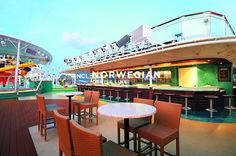 Forget life on land at our Waves Pool Bar atop the Epic! a… – Pool Bars Norwegian Epic, Norwegian Cruise Line, Ncl Epic, Best Cruise Ships, Graduation Open Houses, Wave Pool, Pool Bar, Pub Crawl, Cruise Vacation