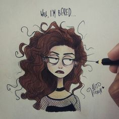 "12.7k Likes, 89 Comments - Alef Vernon (@alefvernonart) on Instagram: ""Today's mood: @lordemusic #timburton #illustration #lorde"""