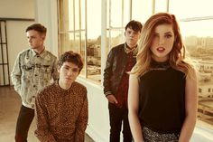 Echosmith-my new obsession. Seriously guys listen to them they are fab. <3