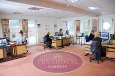 Penthouse Sales Team office at Buckley Mill.