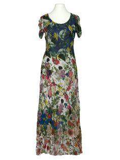 Damen Chiffon Maxikleid Floral, multicolor von Selected Touch bei www.meinkleidchen.de