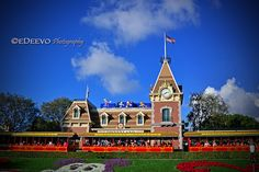 """Disneyland Train Station"""