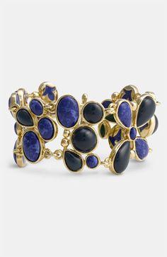 'Lapis of Luxury' Toggle bracelet
