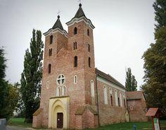 Medieval Arpadian Age church, Árpás, Hungary