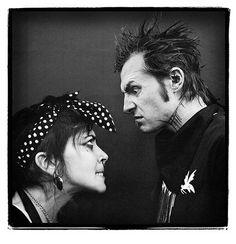 Punkers Unite...Nico and Stza.  <3 #starfuckinghipsters