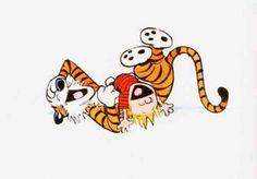 Calvin e Haroldo - Risadas