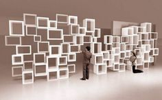 Etagères modulables à l'infini Parametric | Caterina Tiazzoldi