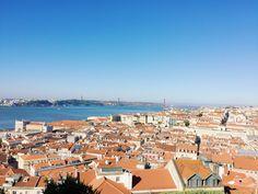Lisboa, Portugal Lisbon Portugal, Travel Pictures, San Francisco Skyline, Paris Skyline, Dolores Park, Around The Worlds, Photo And Video, Instagram, Saint George