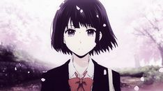 Anime, manga and art ☕ Anime Crying, Sad Anime, I Love Anime, Manga Anime, Anime Art, Scums Wish, Kuzu No Honkai, Amagi Brilliant Park, Anime Gifs