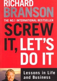 Książka napisana przez miliardera Richarda Bransona. Daje w niej wiele porad dotyczących podejścia do życia i innych ludzi. Podaje również wiele przykładów z własnego życia.