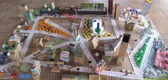 City made from recycled materials @ Bellelli Educacion ≈ ≈