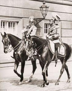 King Georg V and Kaiser Wilhelm II