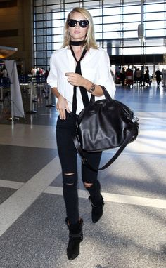 + c u l t o f ʍ o ɹ ɹ o ɯ o ʇ + - dailyrhw:    Rosie departs from the Los Angeles...