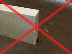 Beim Zuschnitt von Werkstücken für hochwertige Möbel, ist ein möglichst ausrissfreier Schnitt immens wichtig.