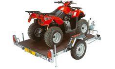 Wolder Remolques multiusos · Chasis 451 y 751 Polivalente  Con estos remolques se puede transportar desde una moto a un quad gracias a sus diversas posibilidades