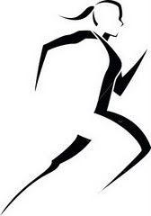 Love this silhouette Runner Woman Running Clipart, Runner Tattoo, Marathon Tattoo, Female Runner, Running For Beginners, Running Guide, Silhouette Clip Art, Running Silhouette, Free Clipart Images