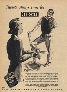 Vintage Nescafe Poster