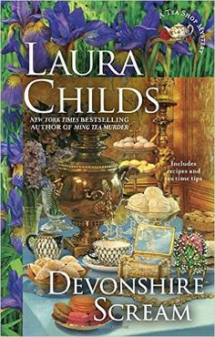 "Forecoming Large Print Book ""Devonshire Scream: A Tea Shop Mystery"" By: Laura Childs"