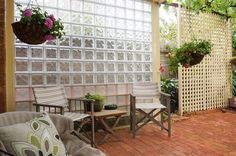 Glass Block Windows, Glass Blocks, Backyard Ideas, Chicago, Exterior, Outdoor Structures, Studio, Wood, Frame