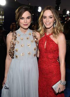 Critics Choice 2015: Keira Knightley e Emily Blunt