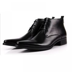 Ankle Genuine Leather Black and Orange Shoes. We are very proud of the quality of our products! All our items are very carefully checked for quality before shipping! Ankle Boots Dress, Ankle Boots Men, Ankle Shoes, Men's Shoes, Dress Shoes, Heel Boots, Comfortable Mens Boots, Leather Heeled Boots, Leather Shoes