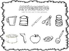 apple themed printables - Pinned by @PediaStaff � Please visit http://ht.ly/63sNt for all (hundreds of) our pediatric therapy pins