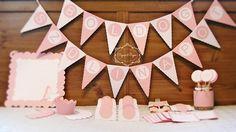 Rózsaszín party szett