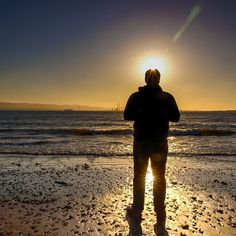 I finally got to properly test my Canon Eos 77D yesterday. Specifically the WiFi Remote control feature. I framed this shot of me standing in front of the sun, looking our over Dublin Bay and took the shot using my phone as the trigger. Worked out well I thought. Dublin Bay, Stand By Me, Canon Eos, Wifi, Remote, Shots, Sunset, Gray, Outdoor