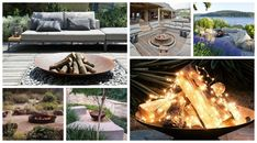 Garden firepit inspirations. Ognisko w ogrodzie - Green Design inspiracje. Outdoor Furniture, Outdoor Decor, Garden, Inspiration, Design, Home Decor, Prehistory, Biblical Inspiration, Garten
