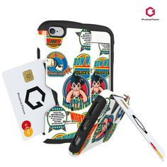 Phonefoam Golf Artwork Astro Boy (Atom) Series for Iphone6 / 6s (Wappen-Blue). Golf ArtWork case is Design Collaboration that express more various and detailed identity. Now for the first time we launched a Astro boy case which collaborate with TEZUKA PRODUCTIONS. New Astro boy is made by PHONEFOAM Designers. For Making Products that could communicate with customers, PHONEFOAM will do make Art-Sensitive Design case more. STORE ONE CARD ONLY, STRAP NOT INCLUDED.