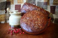 The goddess' aspect as the Dark Mother, the crone, is celebrated at Mabon. This dark honey wheat blend is perfect for your Mabon feast. Mabon, Samhain, Beltane, Wicca Recipes, Honey Wheat Bread, Thanksgiving, Baking, Magick, Witchcraft