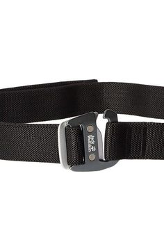 Jack Wolfskin Rough Stretch Belt (Black) Belts - Jack Wolfskin, Rough Stretch Belt, 8002311-6000, Apparel Bottom Belts, Belts, Bottom, Apparel, Clothes Clothing, Gift - Outfit Ideas And Street Style 2017