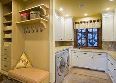 Man Verbindet Den Waschraum Sowieso Meistens Mit Nichts Gutem, Sondern Nur  Mit Dreckigen Kleidern. Wie Sie Ihre Dunkle Waschküche Erhellen
