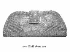 Stella - Dazzling Elegant Swarovski crystal beaded evening purse - SPECIAL