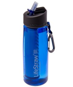 The LifeStraw Go Bottle is a 22-oz refillable water bottle and filter in one!
