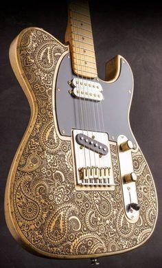 Fender Guitars - Suggestions To Understand The Guitar And Rock Out Fender Stratocaster, Fender Guitars, Fender Jaguar, Custom Electric Guitars, Custom Guitars, Drums Electric, Fender Custom Shop, Guitar Design, Van Halen