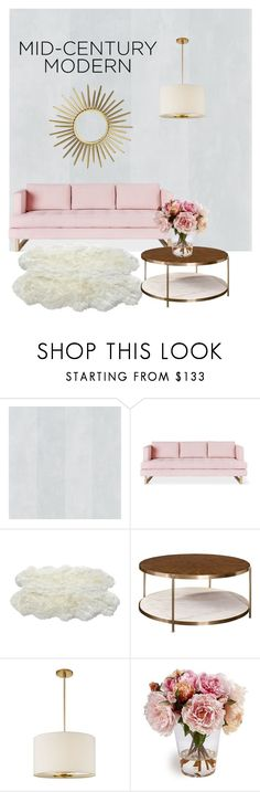 """""""Cozy Vintage"""" by marclassy ❤ liked on Polyvore featuring interior, interiors, interior design, home, home decor, interior decorating, Gus* Modern, Kate Spade and vintage"""