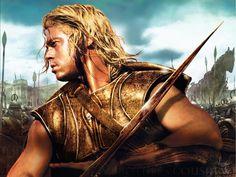 Brad Pitt Troy Truva Aşil Ackhilleus