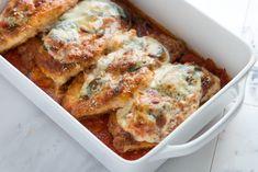 Totally Doable Chicken Parmesan Recipe from www.inspiredtaste.net #chicken #recipe
