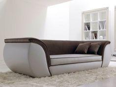 3 seater leather sofa LAPO By CorteZari Drawing Room Furniture, Sofa Furniture, Luxury Furniture, Furniture Design, Modern Sofa Designs, Sofa Set Designs, Living Room Sofa Design, Living Room Seating, Bed Headboard Design