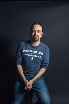 This is Lin-Manuel Miranda.   14 Things You Never Knew About Hamilton's Lin-Manuel Miranda