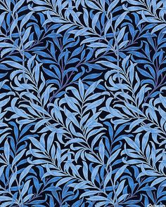 The Morris Jewels - Olive Branch Décor - Ink Blue