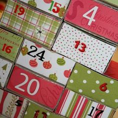 LOVE this idea of counting down to Christmas doing service projects for others!!!