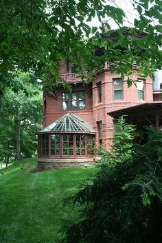 Mark Twain House - Hartford, CT, USA- a must see, big Americana' history